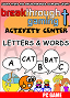 Breakthrough Gaming Activity Center: Letters and Words - Christian-themed Learning Game