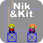 Christian themed retro arcade game Nik and Kit